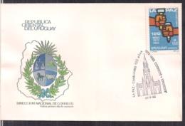 Uruguay - 1992 - FDC - La Paz - 120 Años 1872/1992 - Cygnus - Uruguay