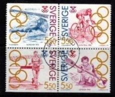 Mi.1721-24 Summer Olympics - Hojas Bloque