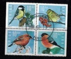 Mi.Domestic Winterbirds - Hojas Bloque