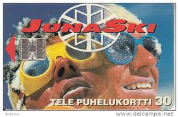 FINLAND - Juna Ski, Tirage 30000, 10/95, Used - Finlande