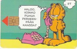 FINLAND - Garfield 2, HPY Telecard, CN : 000109, Tirage 10000, 06/97, Used - Finlande