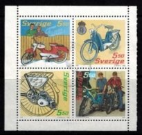 Mi.2493-96 Mopeds - Hojas Bloque