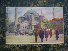 Constantinople-Istanbul-Italy-Italian Stamps-Albania-Valona-1922?   (4209) - Turquie