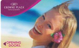 ISRAEL - Crowne Plaza, Hotel Keycard, Used - Hotelkarten