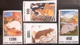 Field Mice, Rodents Sa Te 4v. Mai Batum - Roedores