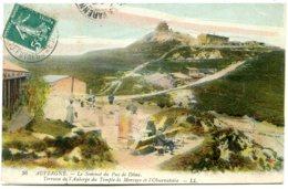 63870 Auvergne - Sommet Du Puy-de-Dôme — Militaria - Lot De 2 CPA - Voir Détails Dans La Description - France