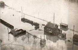 Gare De Marche-les-Dames Aux Inondations Le 1/1/1926 N'a Pas Circulé - Namur