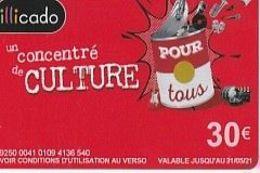 Illicado CONCENTRE DE CULTURE - France
