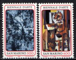 SAN MARINO - 1987 - BIENNALE D'ARTE A SAN MARINO - MNH - Nuovi