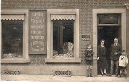 Namur Carte Photo Fabrique De Cercueils 26 Rue Patenier Salzinnes Avec Explications De La Famille Au Verso - Namen