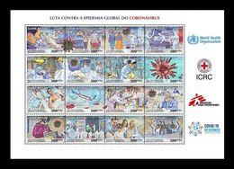 Guinea-Bissau 2020 Mih. 11159/76 COVID-19 Coronavirus Pandemic MNH ** - Guinée-Bissau