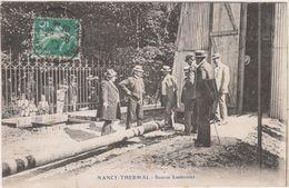 SP- 54 - NANCY -  Thermal - Source Lanternier - Construction ? - Timbre - Cachet - 1913 - Nancy