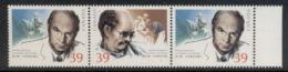 Canada 1990 Surgeon, Joint China Issue Str3 MUH - 1952-.... Elizabeth II