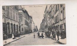 SP- 54 - NANCY - Rue Des Tiercelins - Femmes - Enfants - Chien - Timbre - Cachet - 1909 - - Nancy