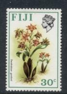 Fiji 1971-72 Flowers 30c MUH - Fidji (1970-...)