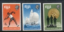 Fiji 1969 South Pacific Games MUH - Fidji (1970-...)