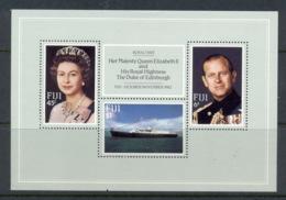 Fji 1982 Royal Visit MS MUH - Fidji (1970-...)