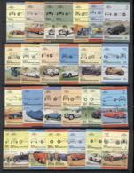 St Vincent Grenadines Bequia 1984-87 LOW Cars MUH - St.Vincent & Grenadines