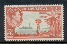 Jamaica 1952 KGVI Pictorial 3d MLH - Jamaica (1962-...)