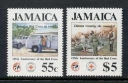 Jamaica 1988 Red Cross MUH - Jamaica (1962-...)