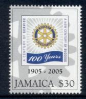 Jamaica 2005 Rotary Intl. MUH - Jamaica (1962-...)