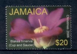 Jamaica 2006 Xmas Flowers $20 MUH - Jamaica (1962-...)