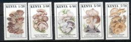 Kenya 1989 Funghi Mushrooms MUH - Kenya (1963-...)