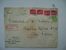 ESTONIA / EESTI - LETTER SENT FROM TALLINN TO SAO PAULO (BRAZIL) IN 1939 IN THE STATE - Estland