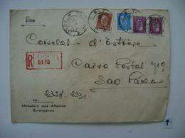 ESTONIA / EESTI - LETTER SENT FROM TALLINN TO SAO PAULO (BRAZIL) IN 1939 IN THE STATE - Estonie