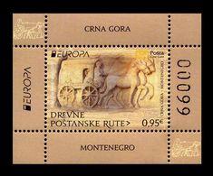 Montenegro 2020 Mih. 448 (Bl.26) Europa. Ancient Postal Routes MNH ** - Montenegro