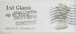 GB SGFS1 2008 Faststamp 1st To 100g Used Issuing Code 085923 [32/212/25D] - Gran Bretagna