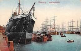 Hamburg Segelschiffhafen Ship Boats Bateaux Port - Sonstige