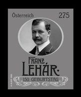 Austria 2020 Mih. 3544 Music. Composer Franz Lehar (black Proof) MNH ** - Proofs & Reprints