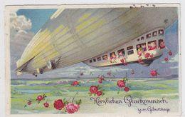 Zeppelin Farbige Karte - Germany