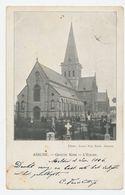 Asse ASSCHE - Grote Kerk (sint Martinuskerk) - L'Eglise ( Eglise St.Martin) - Gelopen 1906 - Asse