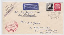 Zeppelin Sudetenfahrt Nach Niedereinsiedel - Germany