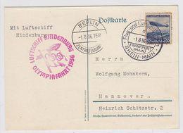Zeppelin Olympiafahrt - Germany