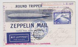 """Zeppelin LZ 127 """"Versuchte Amerikafahrt"""" Mit Abbruchstempel - Germany"""
