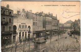 31nth 628 CPA - CLERMONT FERRAND - LA PLACE CHAPELLE DE JAUDE - Clermont Ferrand