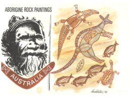 (D 1) Australia - Aborignes Rock Painting - Aborigenes