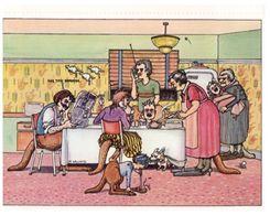 (D 1) Australia - Humour - The Family By Meg Williams - Aborigenes