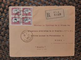 Mila Algérie Pour Metz Moselle France ( Le 01 10 1962) Algérie Française - Cartas
