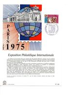 NOTICE FDC 1974 ARPHILA75 - 1970-1979