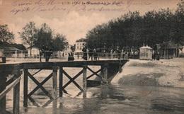 Blaye (Gironde) Le Débarcadère Et Les Allées - Edition L. Bosq - Carte Animée N° 3 - Blaye