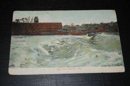 17219-             WISCONSIN, JANESVILLE, UPPER DAM, 1907 - Janesville