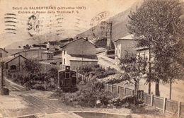 Saluti Da Salbertrand - Entrata Al Paese Dalla Stazione F.S - Andere Städte