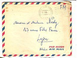 34477 - Par Avion Pour La France - Guerra De Argelia
