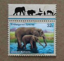 NY97-01 : Nations-Unies (New-York) / Protection De La Nature - Elephant D'Afrique (Loxodonta Africana) - Unused Stamps