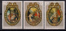 2001  Liechtenstein   Mi. 1275-7**MNH   Weihnachten: Rosenkranzmedaillons. - Ongebruikt
