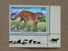 NY97-01 : Nations-Unies (New-York) / Protection De La Nature - Cougar (Felis Concolor) - Unused Stamps